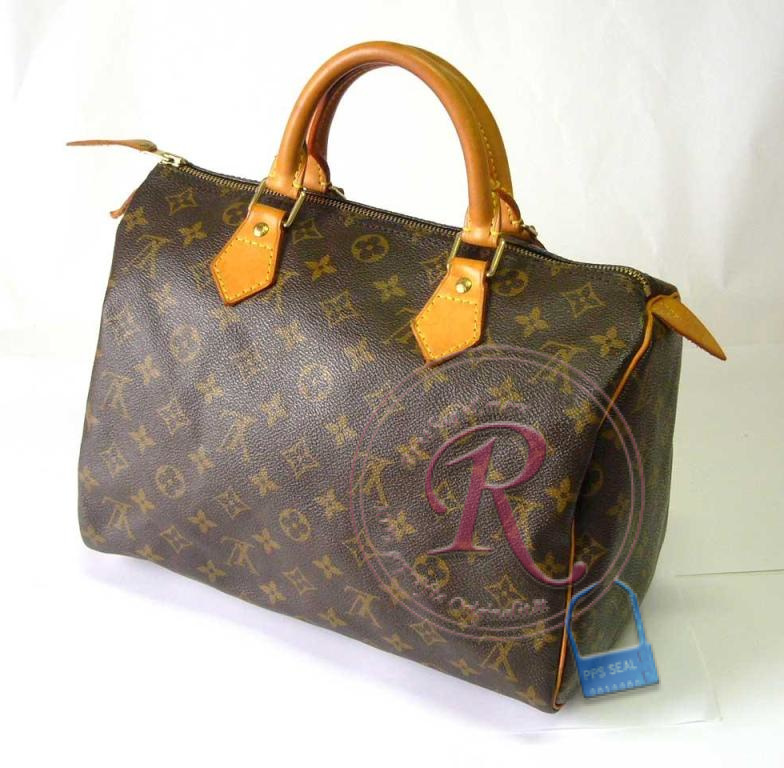 orig louis vuitton speedy 30 monogram sku m41526. Black Bedroom Furniture Sets. Home Design Ideas